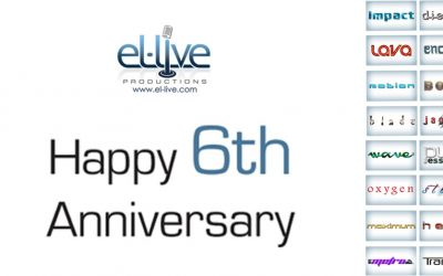 el-live Productions 6th Anniversary Message